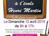 Vide-greniers de la FCPE Henri Martin le 12 avril 2015